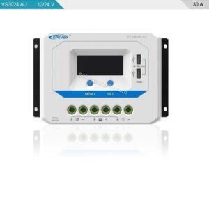 شارژ کنترلر خورشیدی 30 آمپر 24 ولت سری AU
