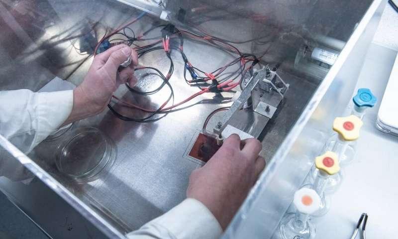 سلول های خورشیدی ارگانیک در آزمایشگاه