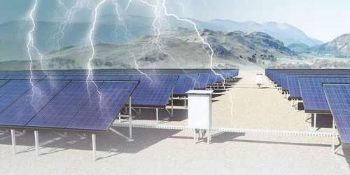 نقش برقگیر (SPD) در عملکرد سیستم های برق خورشیدی