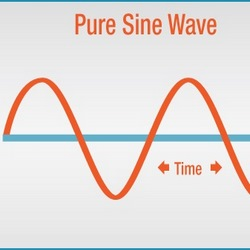 شکل موج سینوسی خالص