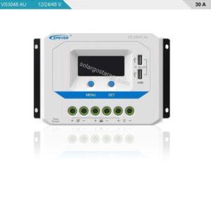 شارژ کنترلر خورشیدی 30 آمپر 48 ولت سری VS-AU