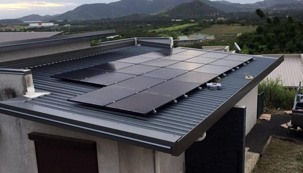 مشاوره و نصب برق خورشیدی برای ویلا