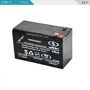 باتری 7.5 آمپر ساعت چرخه عمیق صبا