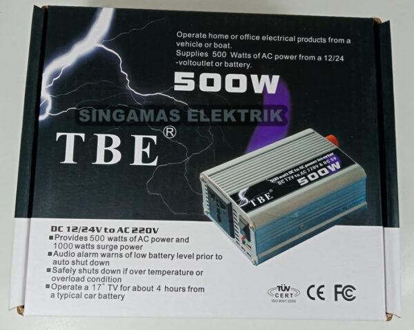 مبدل برق خودرو 500 وات تی بی ای TBE