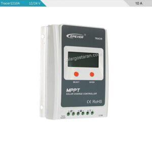 شارژ کنترلر خورشیدی 10 آمپر MPPT برند epsolar