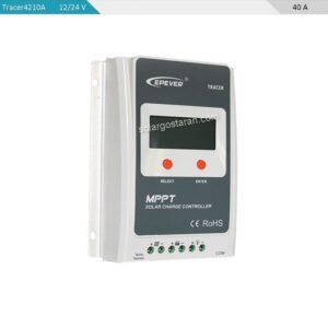 شارژ کنترلر خورشیدی 40 آمپر MPPT برند epsolar