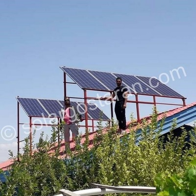 برق خورشیدی 8000 وات کرج