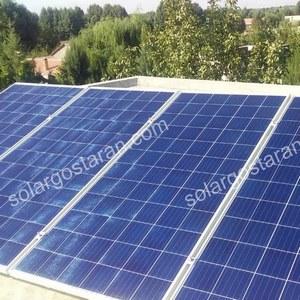 برق خورشیدی 2000 وات هشتگرد- رامجین