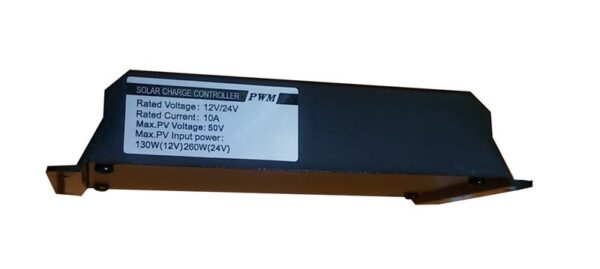 شارژ کنترلر خورشیدی 10 آمپر 24 ولت PWM