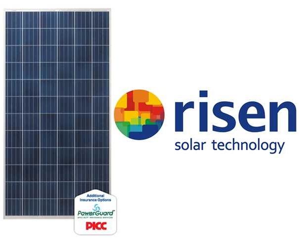 پنل خورشیدی 325 وات پلی کریستال رایزن Risen