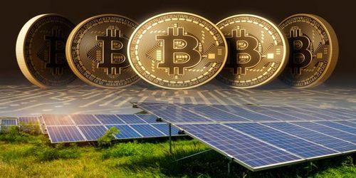 راه اندازی ماینر با برق خورشیدی