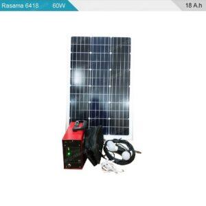 پکیج برق خورشیدی سیار 60 وات