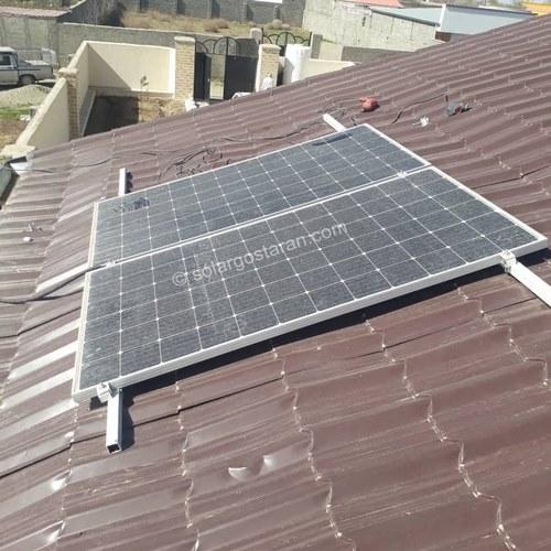 برق خورشیدی 2000 وات هشتگرد - نمکلان