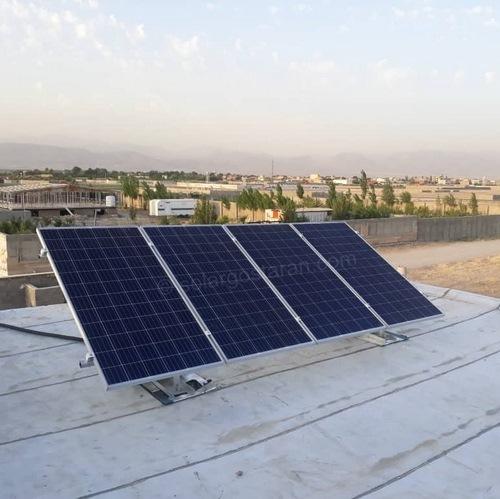 برق خورشیدی 3000 وات برای ویلا هشتگرد