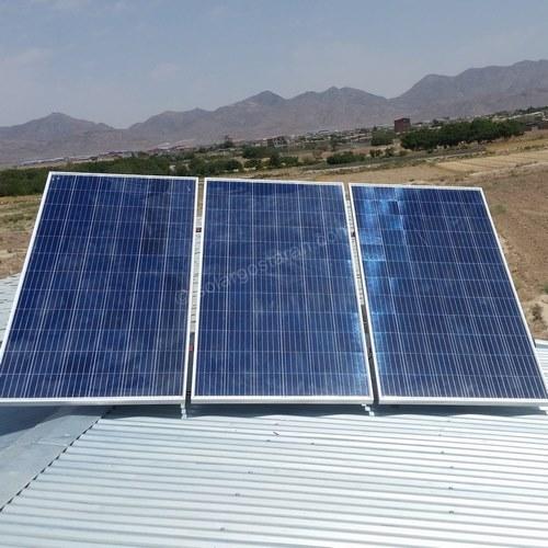 برق خورشیدی 3000 وات نجف اباد نهضت اباد