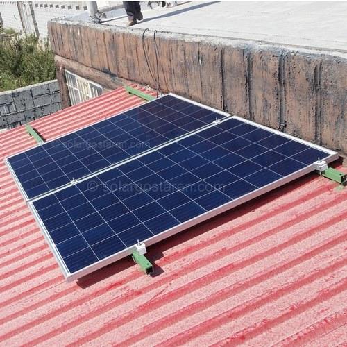 برق خورشیدی 2000 وات 3000 وات ساعت نجف آباد نهضت اباد
